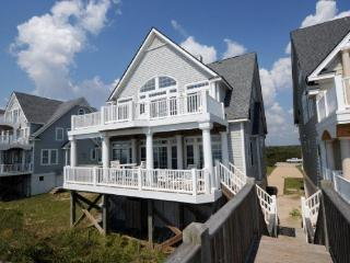 Island Drive 4256 Oceanfront! | Internet, Community Pool, Hot Tub, Jacuzzi, Fireplace, North Topsail Beach