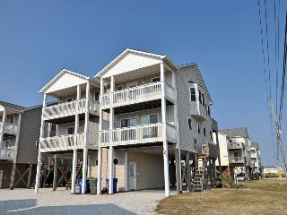Volusia Drive 121 Oceanview! | Jacuzzi, Internet, North Topsail Beach