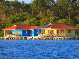 Amazing over the water house in Caribbean paradise - Isla Colon vacation rentals