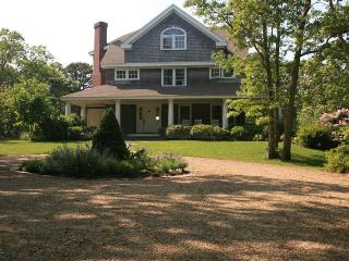 Water View Shingle Style Home in Lower Makonikey, Vineyard Haven
