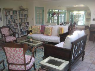 Sunny, beautiful home, pool, 1/2 block from ocean - Santa Barbara vacation rentals