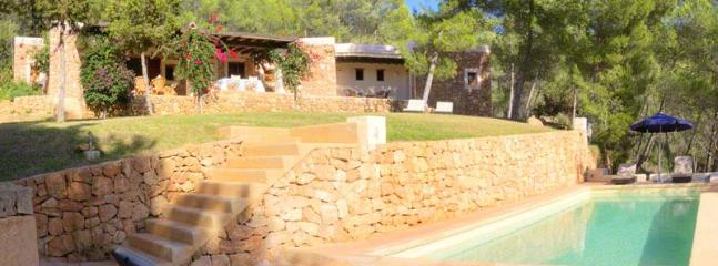 The villa that blends with ibiza´s landscape - Image 1 - Santa Gertrudis - rentals