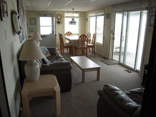Oceanfront Apt- Brant Beach, Long Beach Island, NJ - Decatur Island vacation rentals