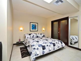 Separate Bedroom Area with King Size Bed
