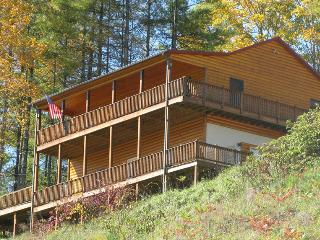 Jacks Creek Cabin Rental Burnsville NC