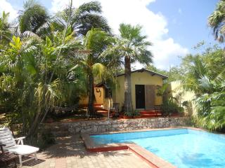 Cozy holiday apartment with private pool, Willemstad