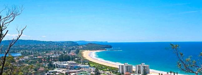 The beautiful coastline. Looking north from Collaroy towards Palm Beach