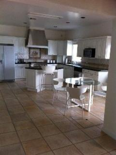 Gourmet kitchen at at Paradise Point, St. Croix