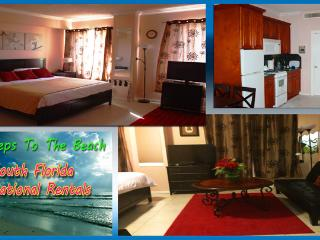 Large Studio, Ocean Front hotel, free WiFi, Hollywood