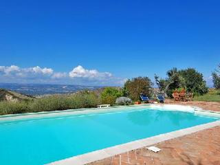 Lovingly restored Villa Poilio has an organic herb and vegetable garden and pool, Orvieto