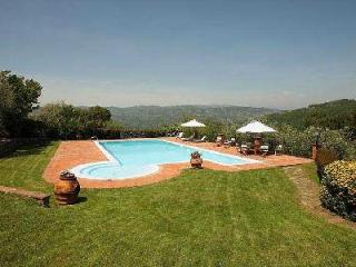 Restored 18th Century Villa dell'Angelo on 18 Acres with Saline Pool & Mountain Views, Montecatini Terme