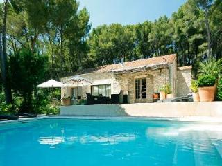 Secluded Family-Friendly Countryside Retreat Villa Cecile Set in Lovely Garden with Pool, Carpentras