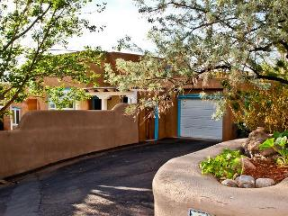 An authentic Santa Fe adobe perched above Santa Fe's downtown - walk to Plaza