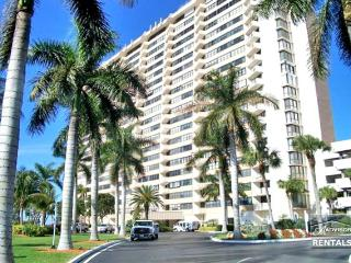 Fantastic view from this 2 bedroom condo in Gulfview Club, Marco Island
