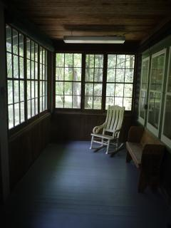 Lodge Front Porch Rocking Chair