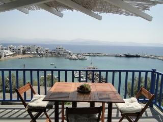 New Apartment with excellent sea view, Paros