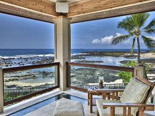 Ocean Front 3 bedroom, 2.5 bath Home in Kona Bay Estates, Vista Oceania-PHKBEOce, Kailua-Kona