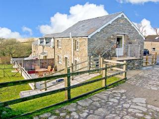 THE STABLE, pet-friendly cottage, upside-down accommodation with country views, games barn, fishing, Aberaeron Ref 20005