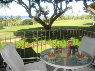 Elegant condo with gorgeous ocean and golf views, Kailua-Kona