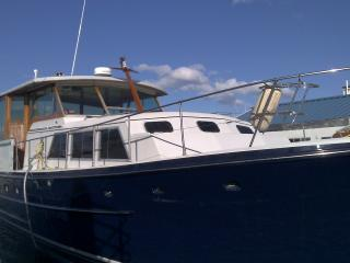 Restored vintage yacht. -  Free Parking, Boston
