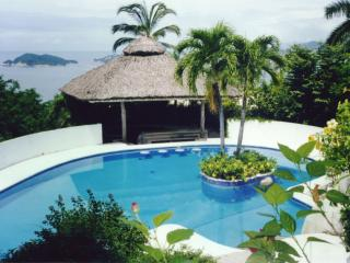 COME TO THIS TROPICAL PARADISE WITH SIX BEDROOMS, TWO POLES,ARTIFICIAL CASCADE AND ENORMOUS SOCIAL AREA., Acapulco