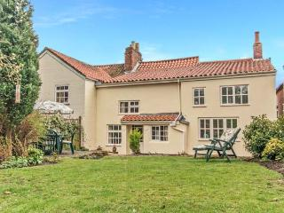 CLEMATIS COTTAGE, character cottage, lawned garden, within walking distance to shop and pub, in Tealby, near Market Rasen, Ref 26457