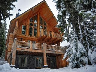 Luxury Log Chalet in Government Camp -Hot Tub- WiFi