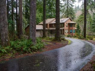 Large Home on Salmon River great views, WiFi , summer deals !!!, Brightwood