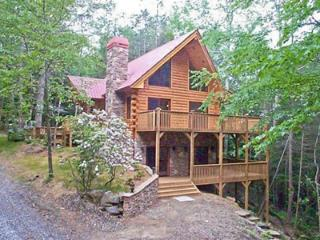 Walnut Hills - Private log home with creek!, Franklin
