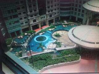 Hotel living atop Eastwood Mall, Quezon City