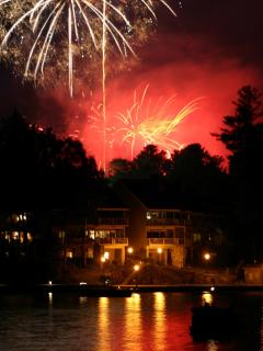 Fourth of July at Lake Toxaway, Christi Fuller Photography, Copyright 2010