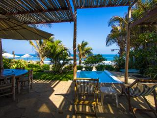 Claro de Luna House, Beach front row, right on the seashore - Mancora vacation rentals