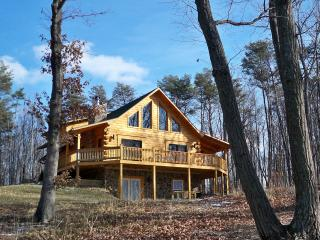 Exquisite True Log Cabin/Chalet Rental, Berkeley Springs