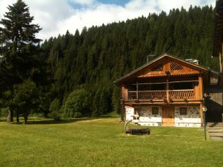 Cottage Tabià Al di là de l'Aiva in the Unesco DolomitiSuperski circuit, Mareson