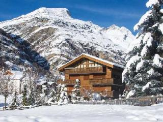 Modern Chalet Lumiere with open layout boasts views of the Matterhorn & ski-in/ski-out access - Valais vacation rentals