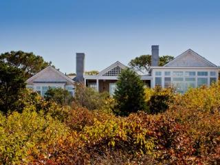 MODERN BEACH HOUSE WITH SWEEPING NORTH SHORE WATER VIEWS - WT PARM-39, West Tisbury