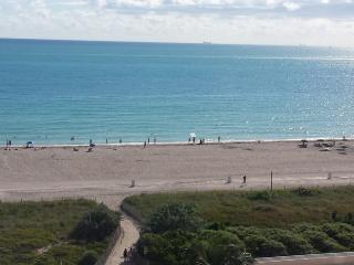 Beautiful 2 Bedroom, Ocean View on the Beach Condo, Miami Beach