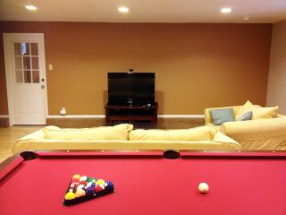 Family Room - Pool Table