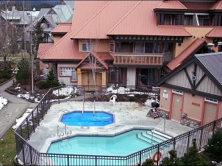 Common Area Outdoor Pool & Hot Tub - Short Walk to All Village Attractions (4061), Whistler