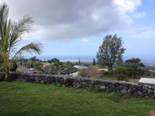 Panoramic View of Kailua-Kona and the Ocean