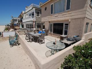 Two Bedroom. One Bath Lower Unit on the Sand! - Newport Beach vacation rentals