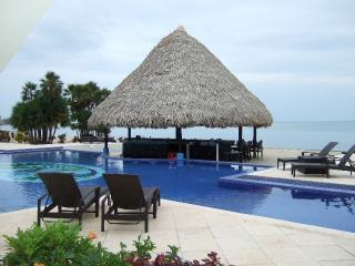 Belize Ocean Club 2BR Suite - Ocean Front Poolside, Placência