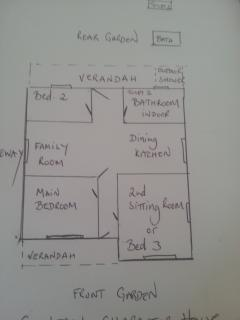 Floor Plan of Central Character House