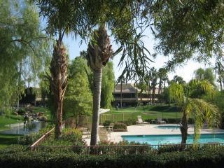 View from the front door of the condo. - Palm Desert-Palm Springs Resort at Palm Valley CC - Palm Desert - rentals