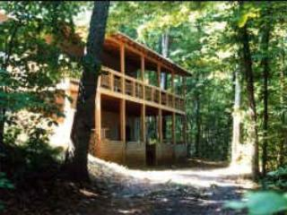 Serenity Mountain Cabin; Hot tub, pool table, deck - Blue Ridge vacation rentals