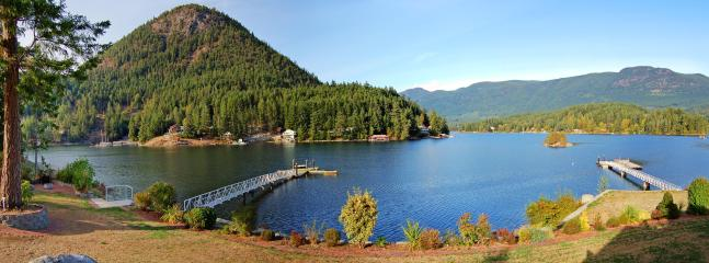 Situated across from picturesque Mt Daniel on serene Oyster Bay in stunning, natural Pender Harbour
