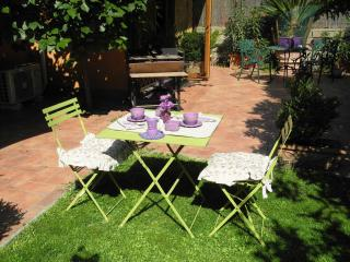 Chalet and garden in Rome city center