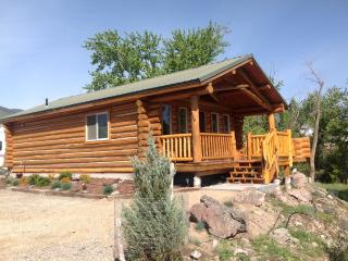 Log Cabin along Jesse Creek in Salmon, Idaho - Salmon vacation rentals