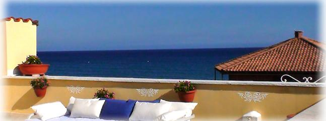 Relax on your private terrace with sea view and enjoy sea breeze