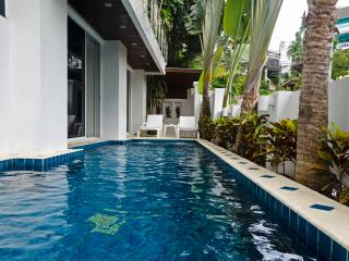 The white villa- private pool- Patong beach